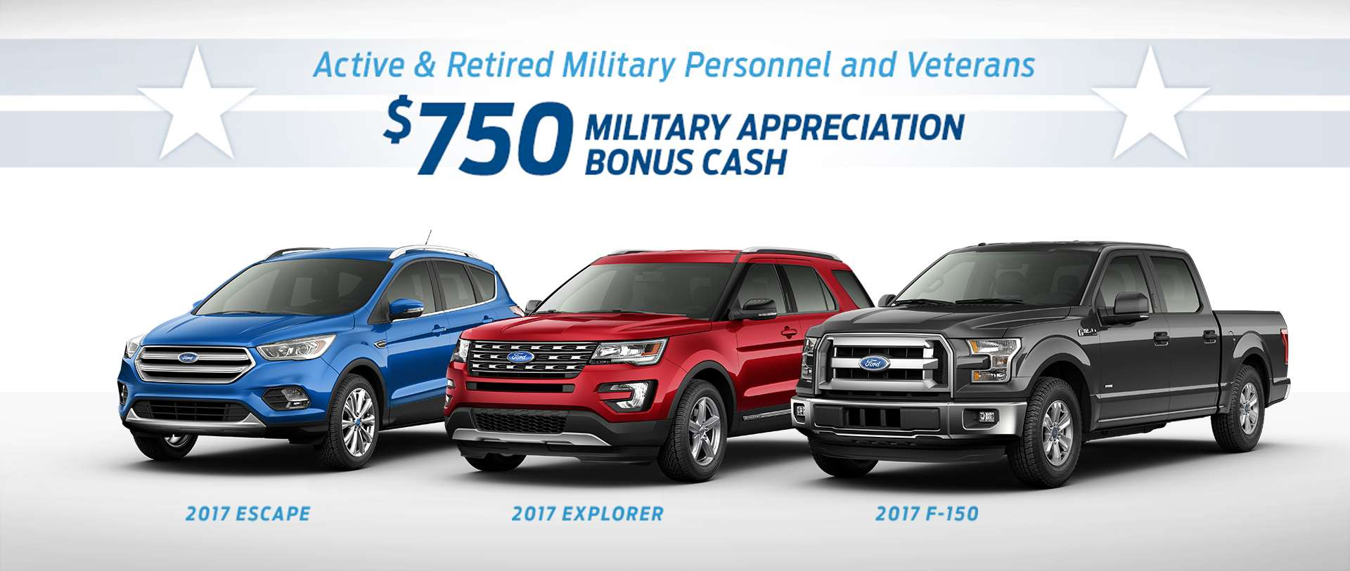 Active & Retired Military Bonus Cash