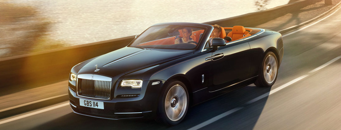 "Rolls-Royce Dawn Awarded ""Luxury Car of the Year"" by Top Gear"