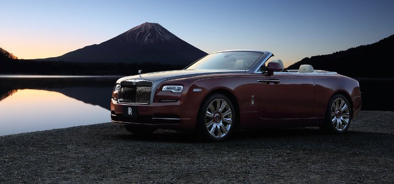 Rolls-Royce Dawn Earns Prestigious Design Award