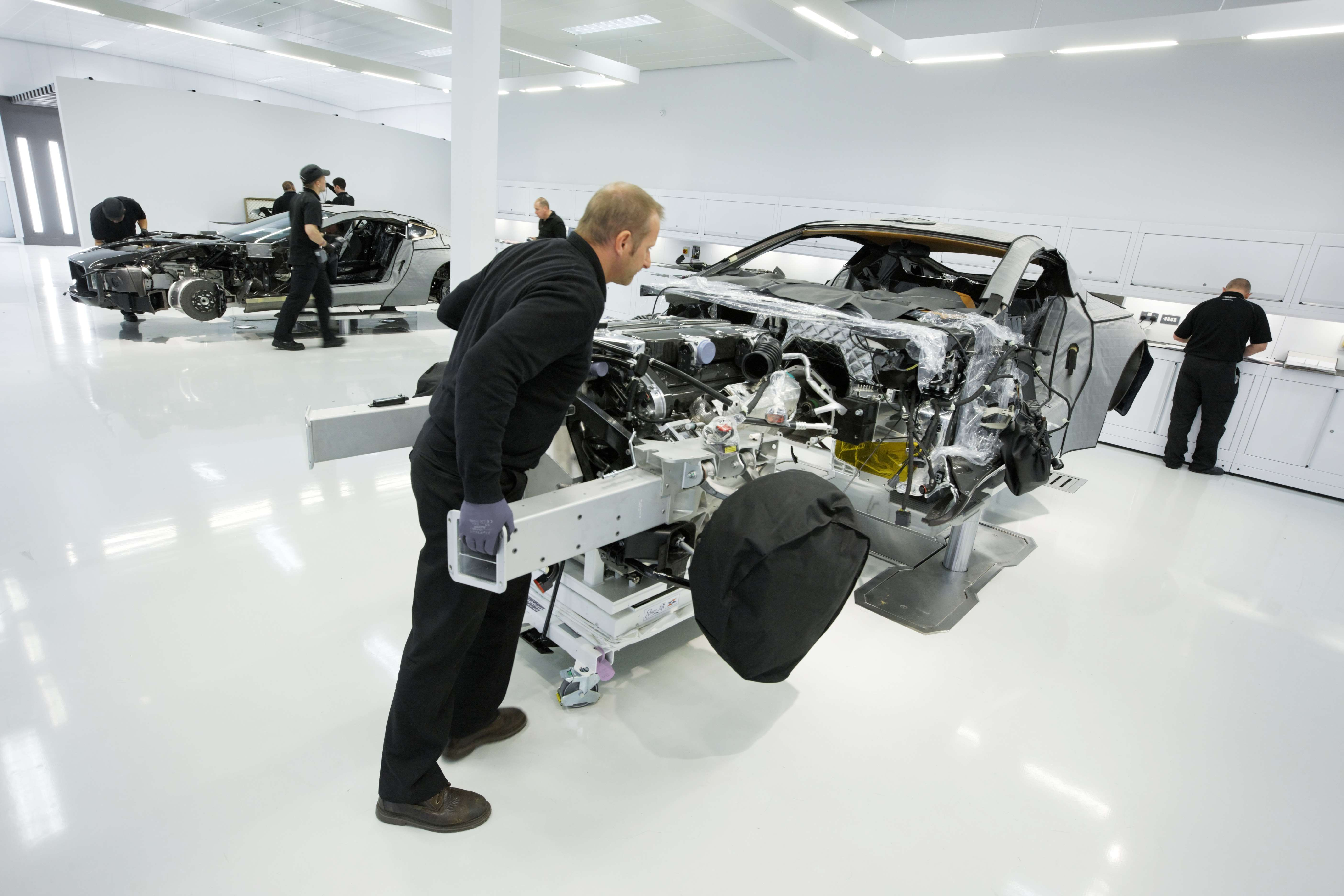 New Production Facility for Aston Martin