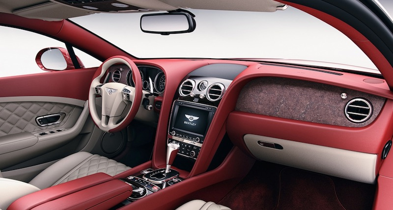 Bentley Introduces Real Stone Trim