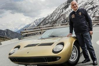 Automobili Lamborghini remembers Paolo Stanzani with affection and respect; the engineer was the father of the Miura