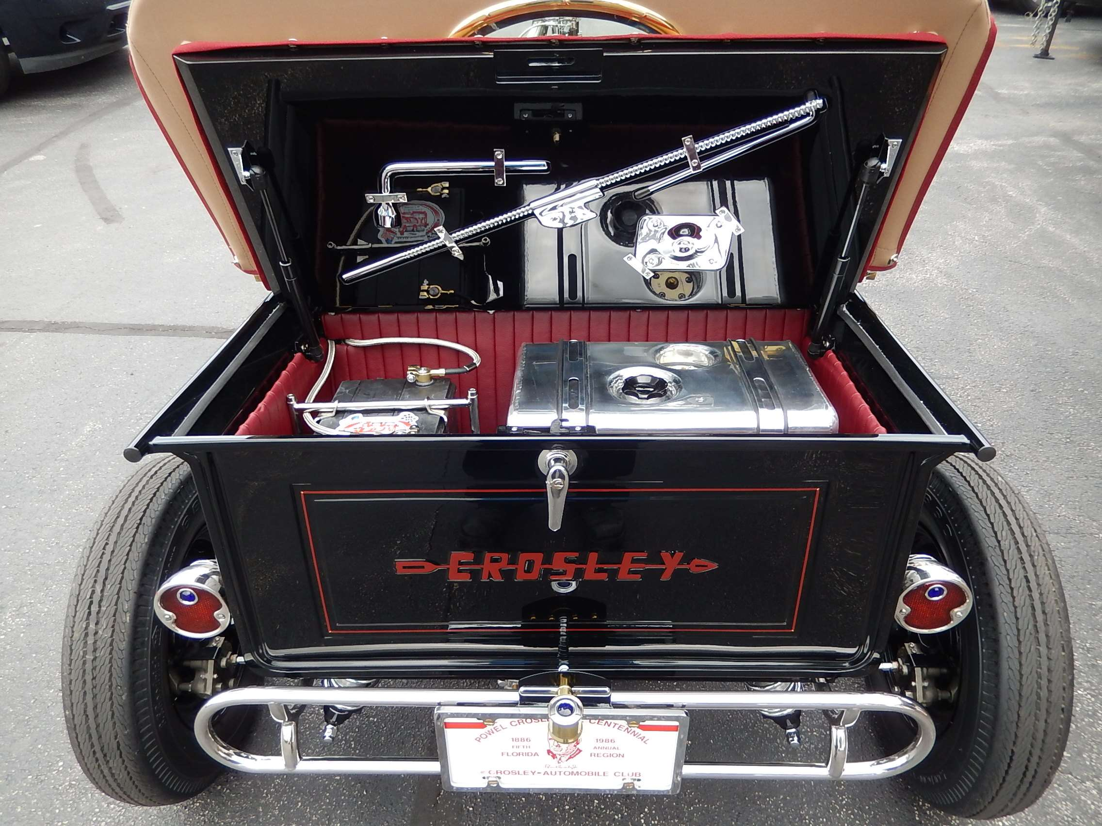 Crosley T Bucket Trunk