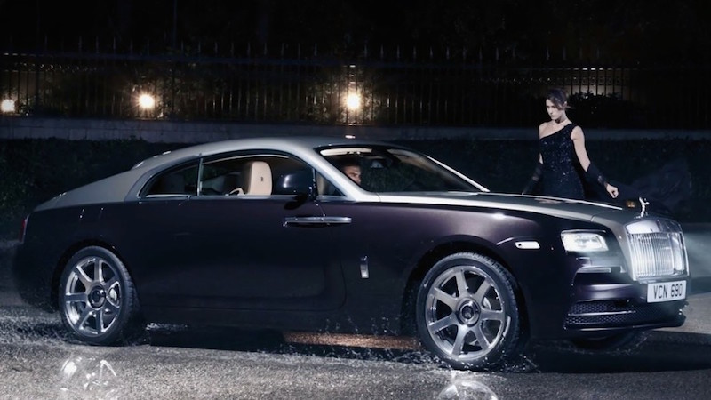 2015 Rolls Royce Wraith Exterior Side View
