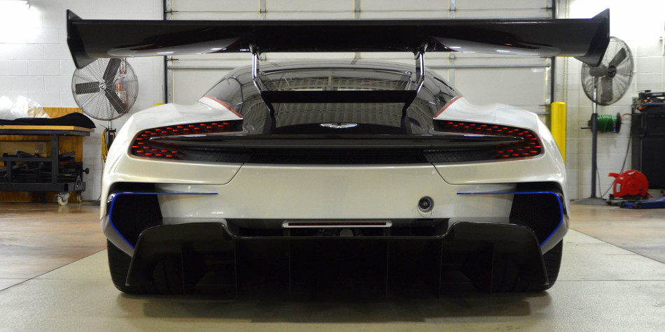 Aston Martin Vulcan Rear View
