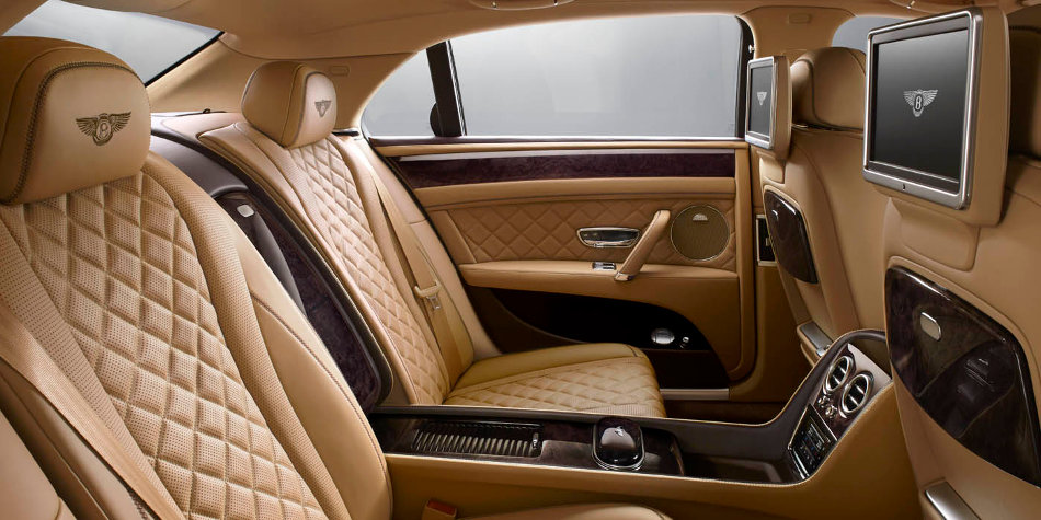 Bentley Flying Spur Interior Rear Seating