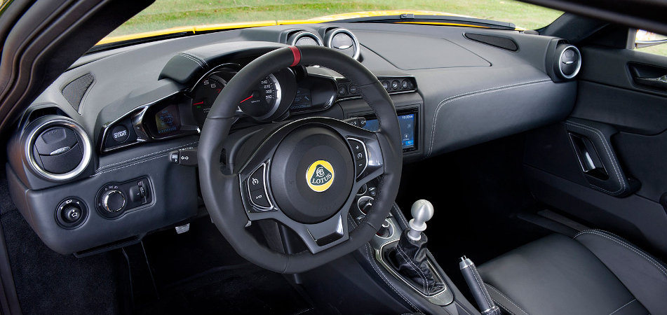 American Evora 400 Interioir