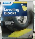 Package of 10 leveling blocks