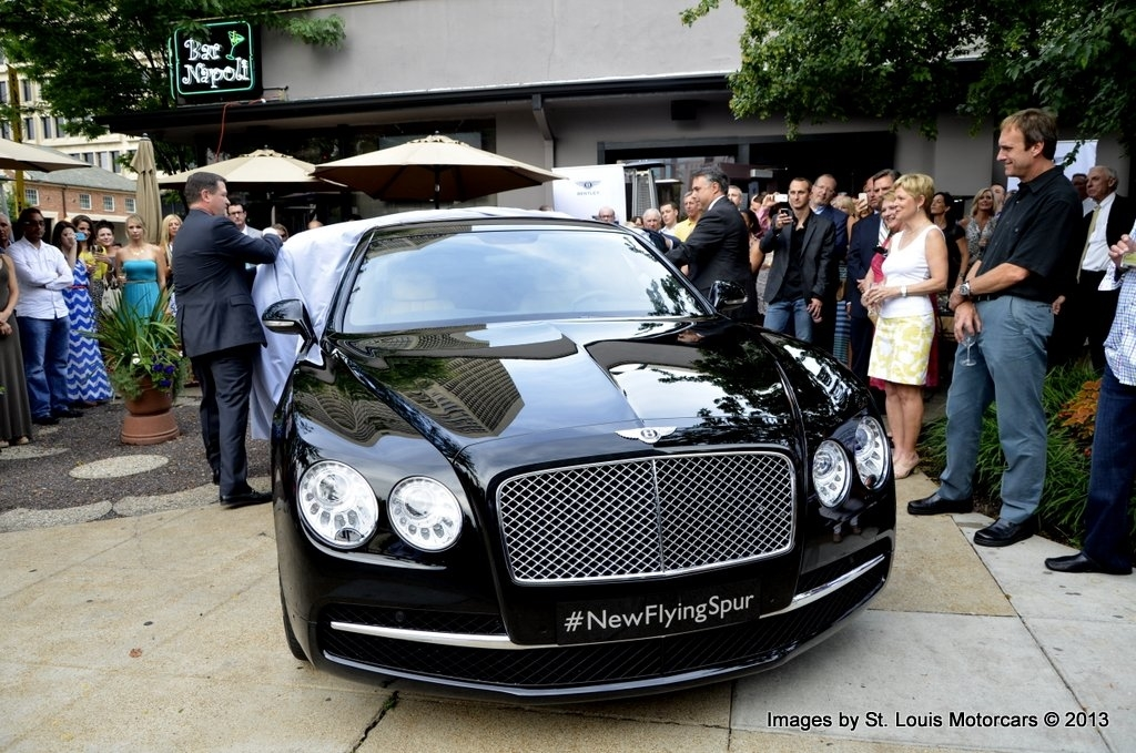 New Bentley Flying Spur Launch Event at Cafe Napoli - June 26th 2013.