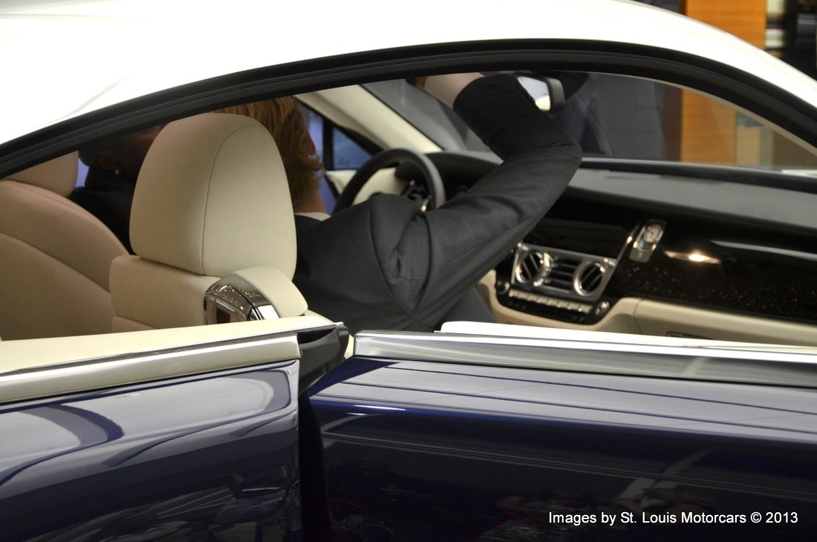 New Rolls-Royce Wraith Unveiling Event September 19th 2013