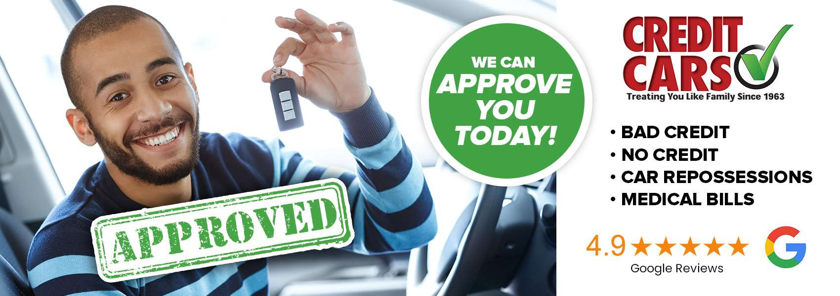 We can approve you today!