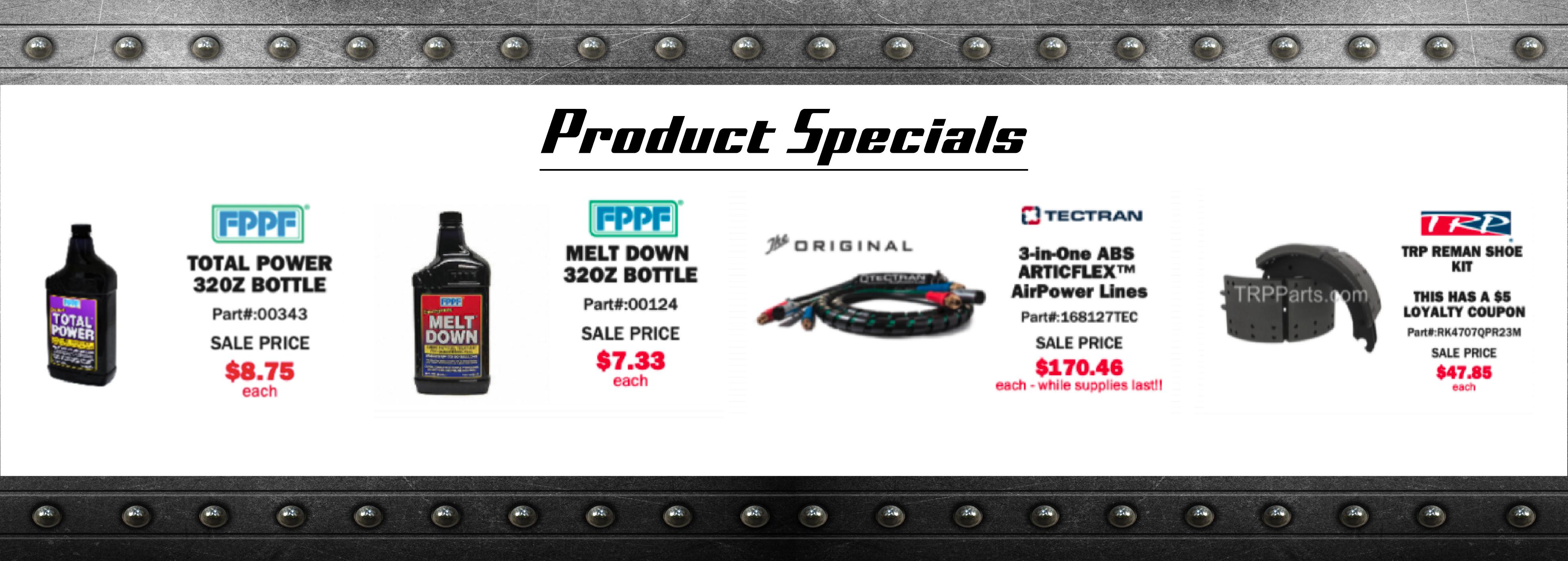 Parts special 02/21-03/21