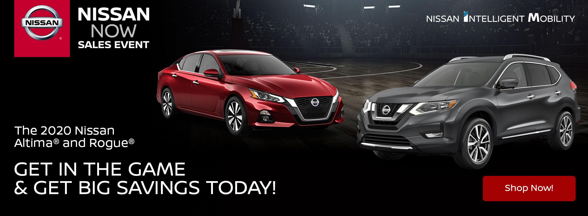 Nissan Now Sales Event