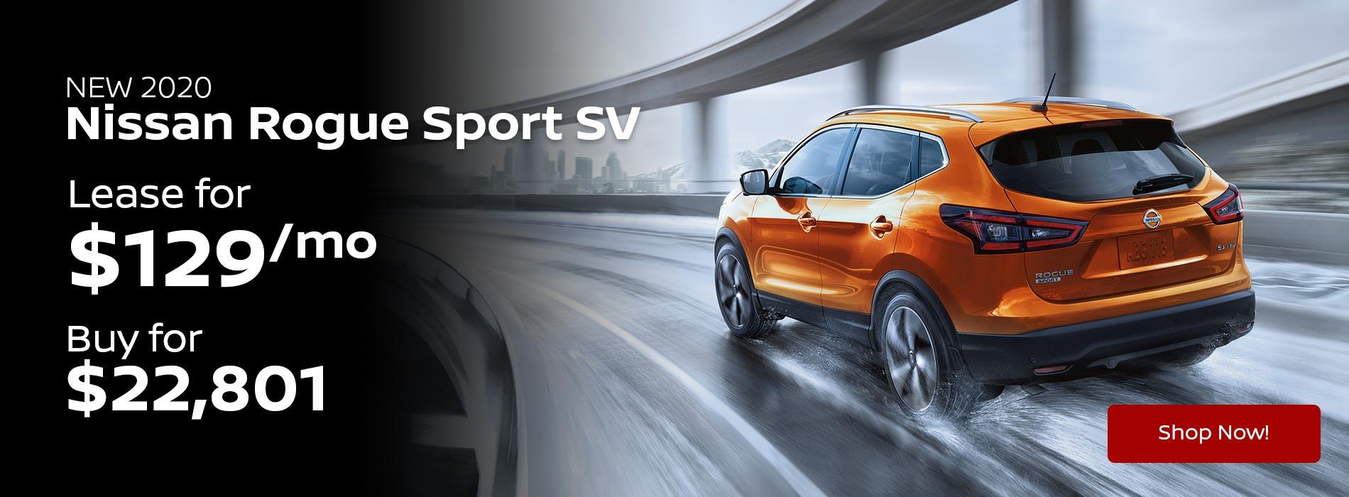 2020 Rogue Sport SV