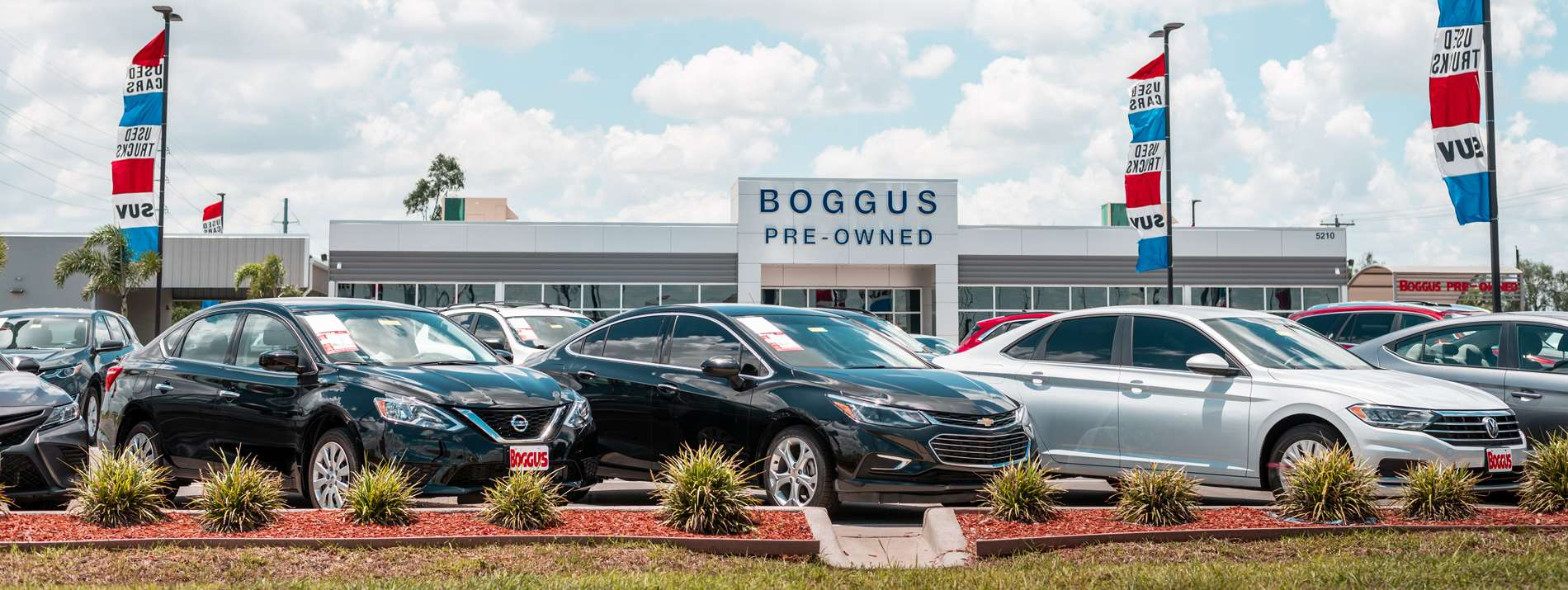 Boggus Pre-Owned Located at 5210 N Cage Blvd in Pharr Tx.