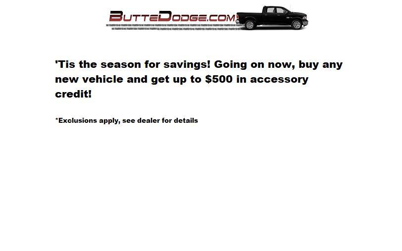Butte Dodge Accessory