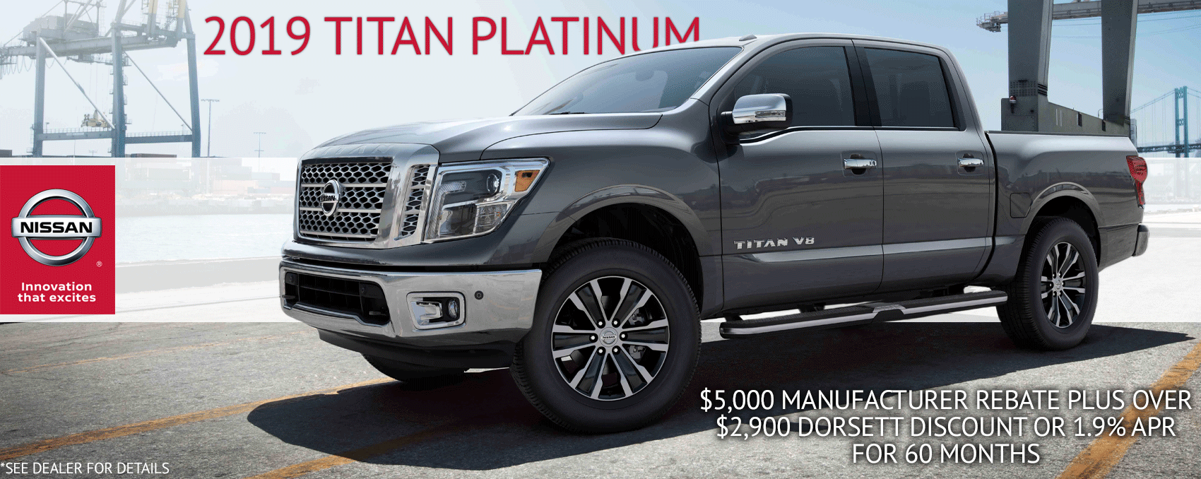 2019 Titan Platinum Dorsett Aug