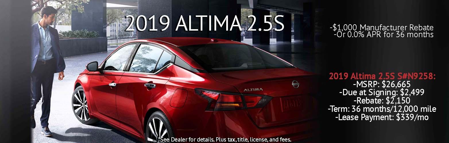 Oct Nissan Altima