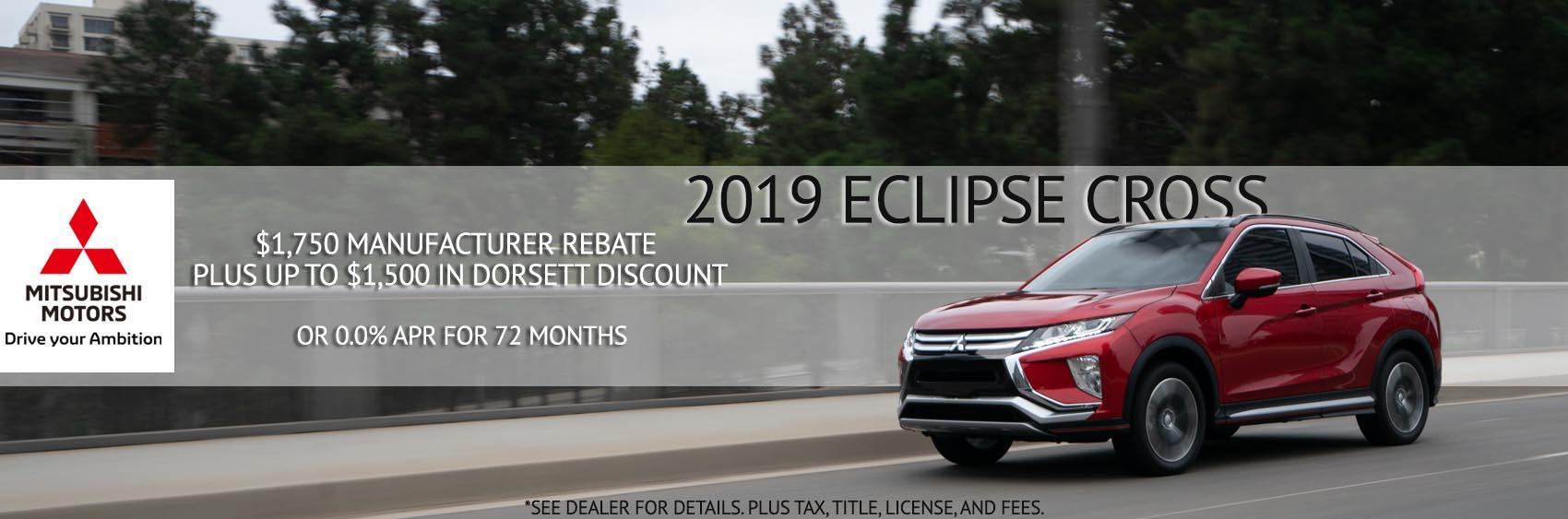 Sept 2019 Eclipse Cross