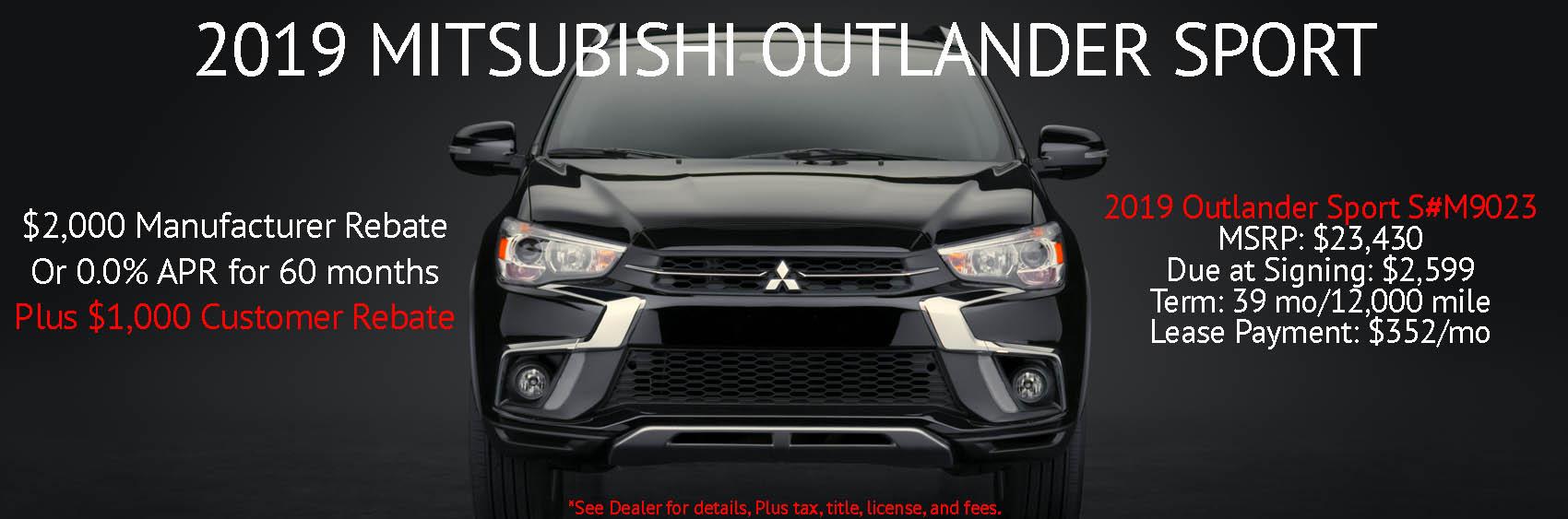 Oct Outlander Sport