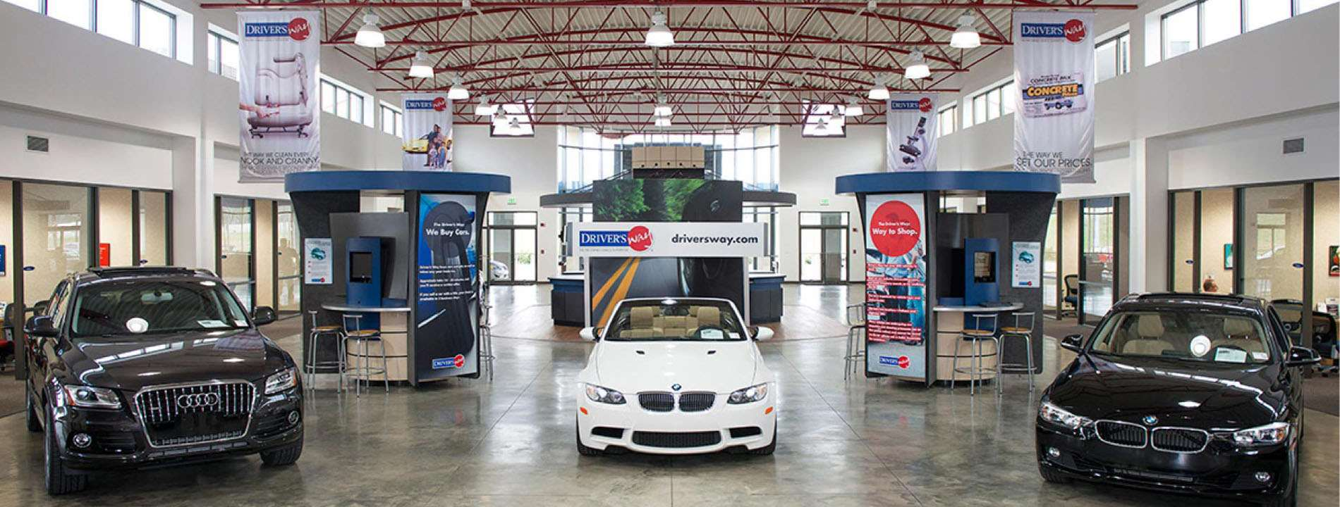 Driver's Way Indoor Showroom