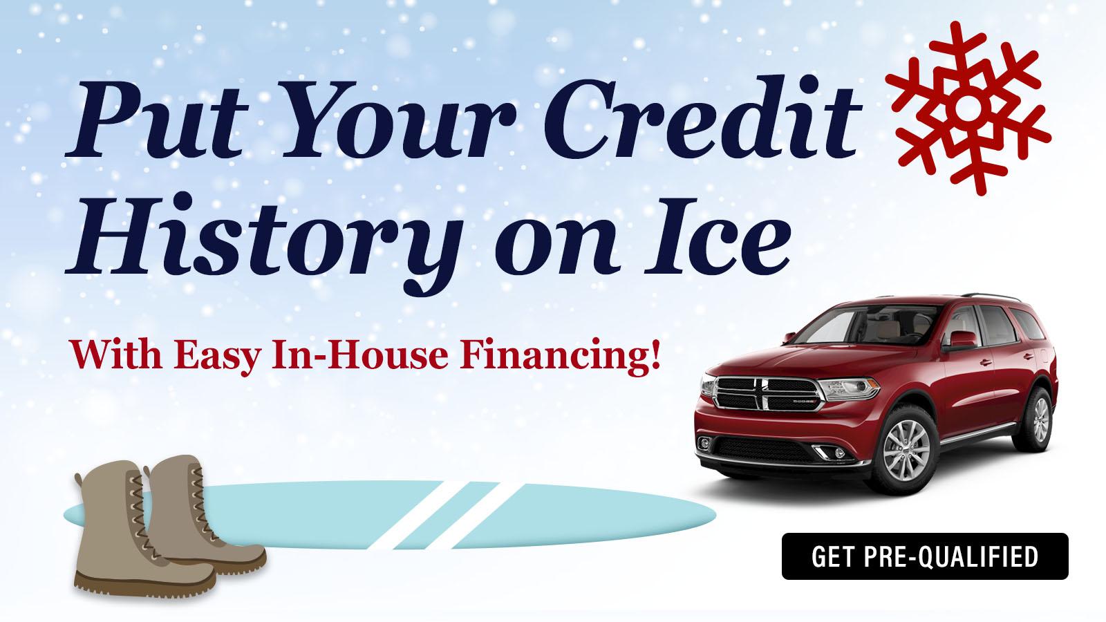 EZ in-house Financing