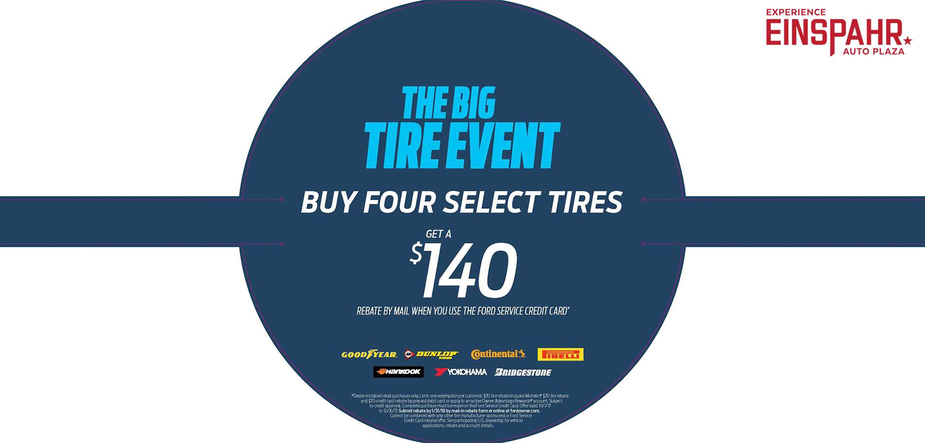 4th Qtr Tire Rebate