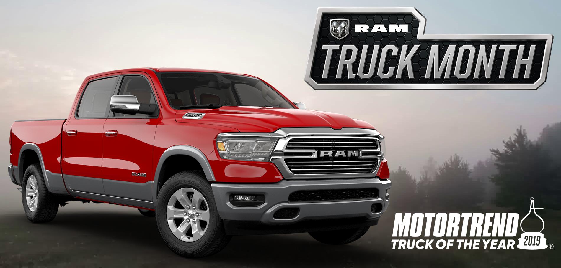 19 RAM Truck Month MotorTrend