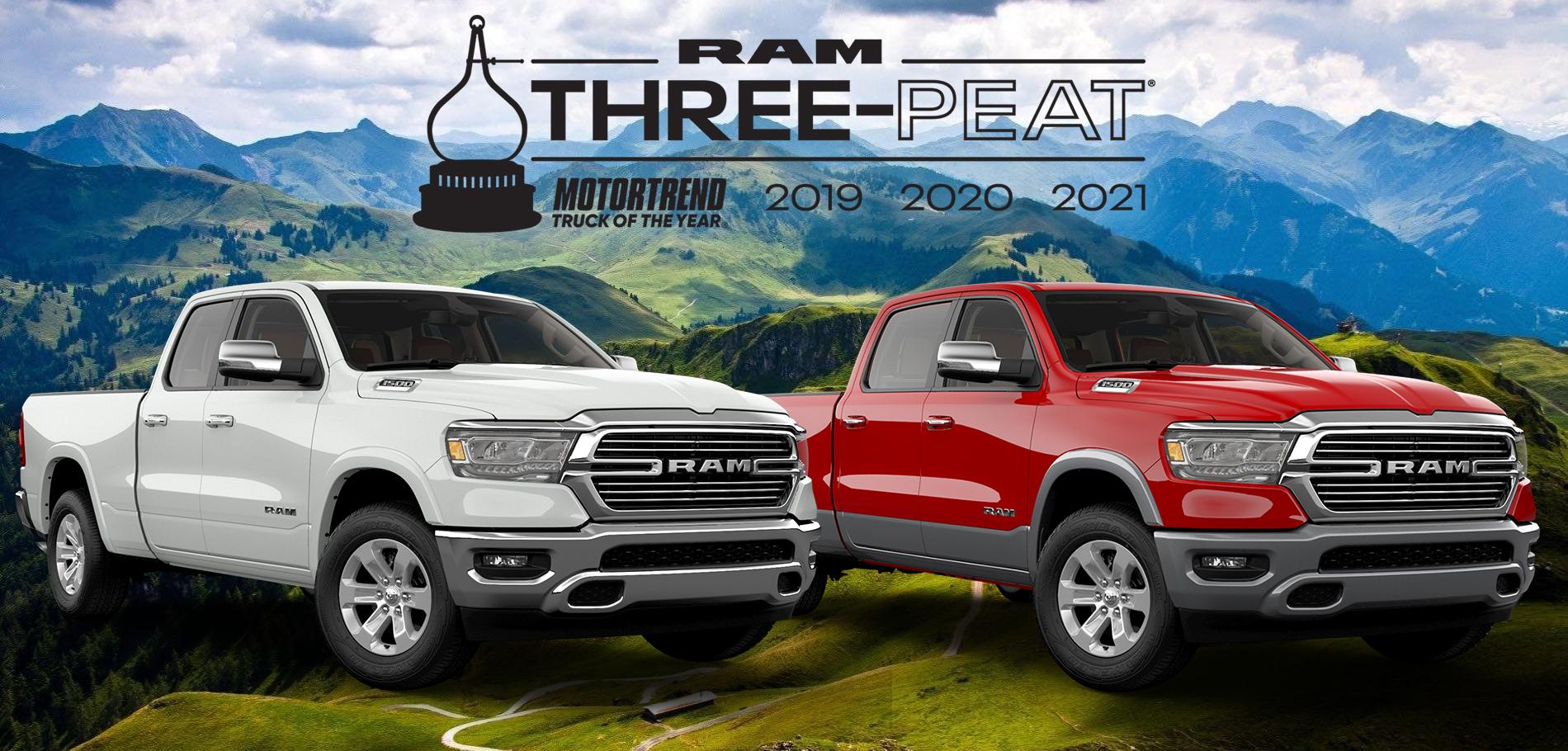 2021 Three-Peat RAM