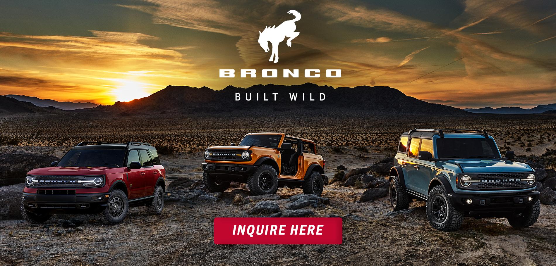 Bronco Launch 2020