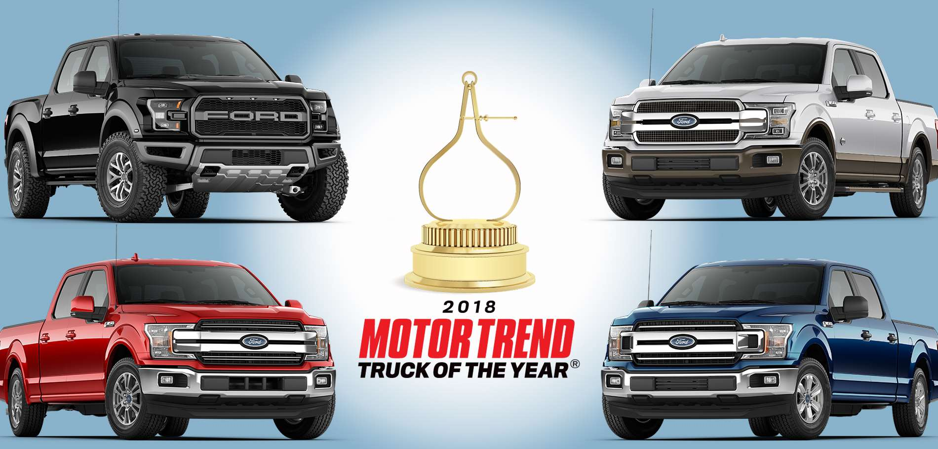 2018 Motor Trend F150 Lineup