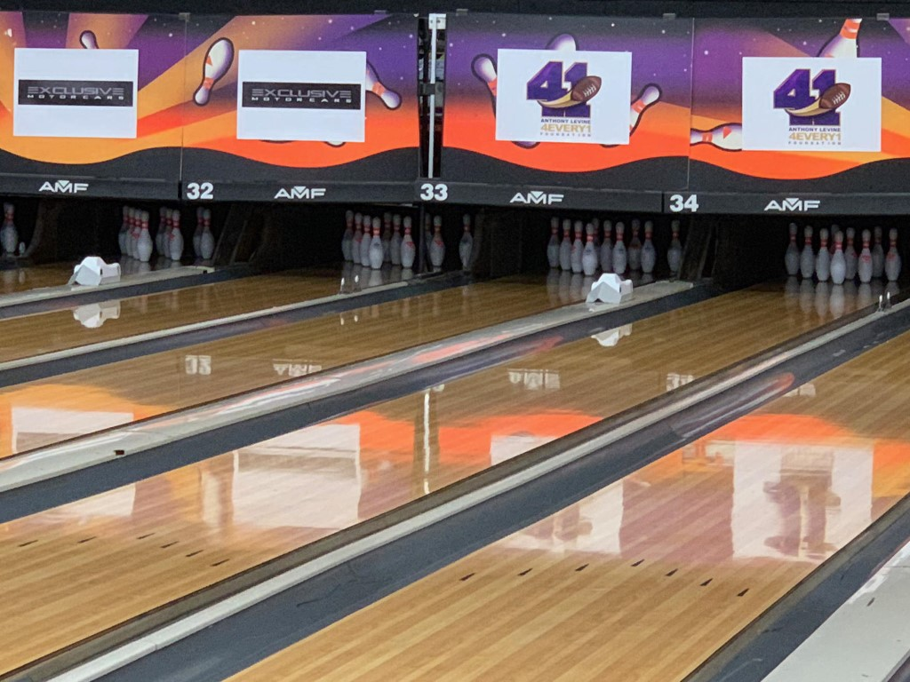Anthony Levine #41 Celebrity Bowling Charity Event