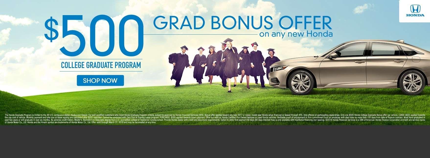 Grad Bonus