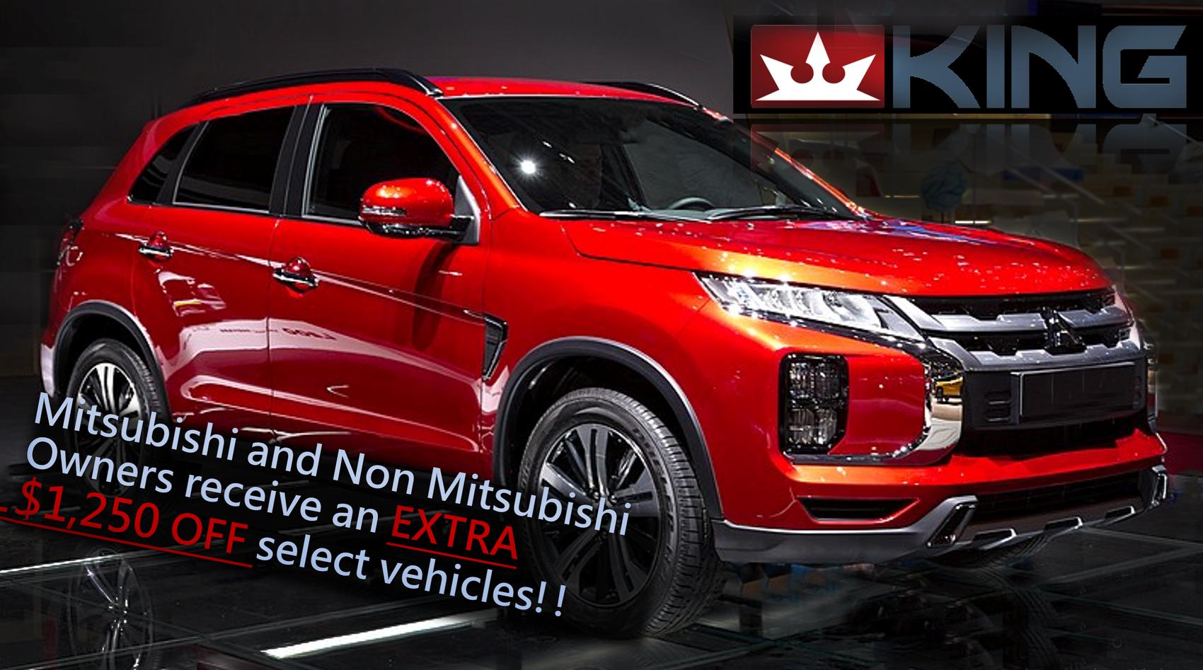 King Auto Mitsubishi Group Sale