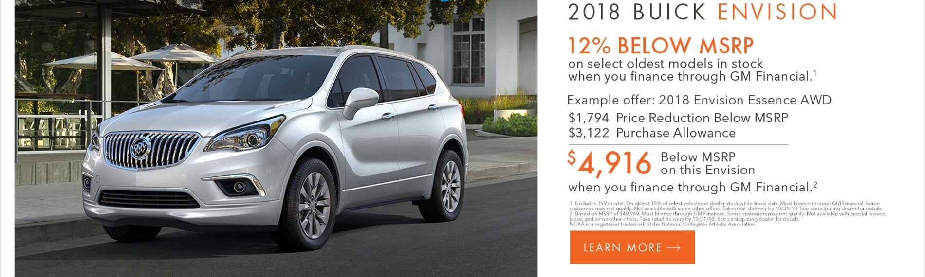 18 Buick Envision
