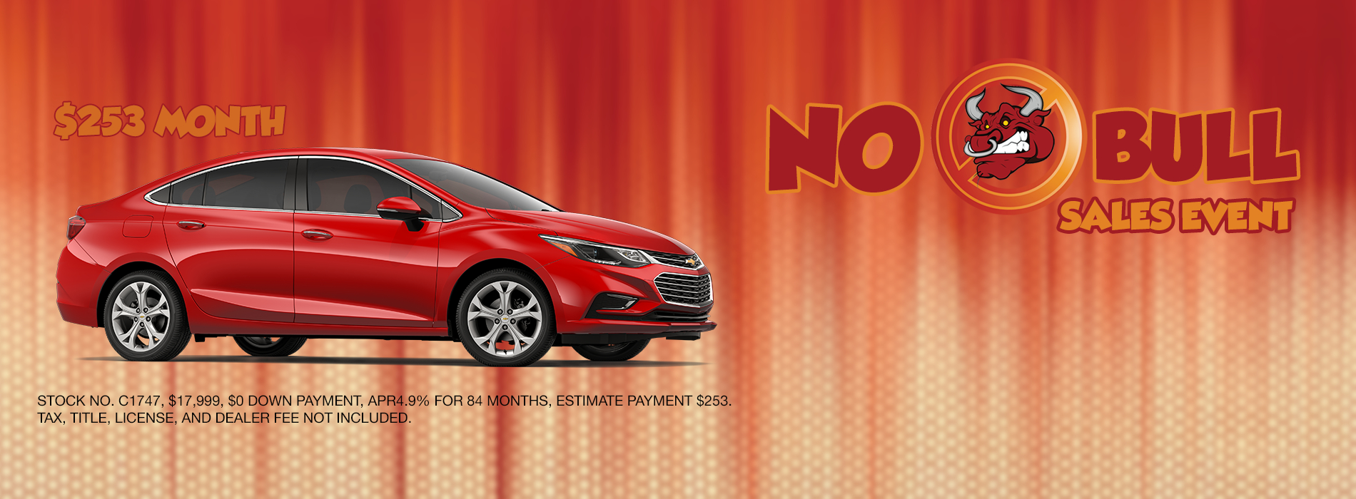 Cruze Payment August
