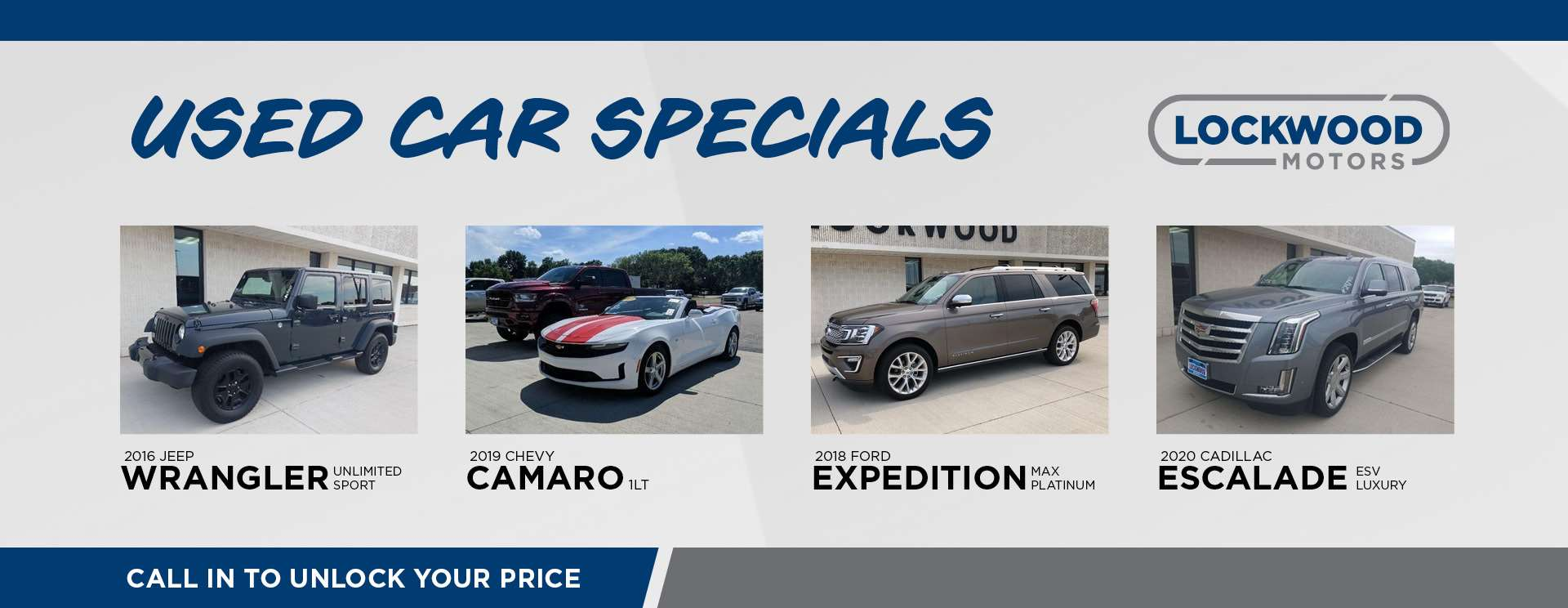 July GM Used Car Specials - HP 3