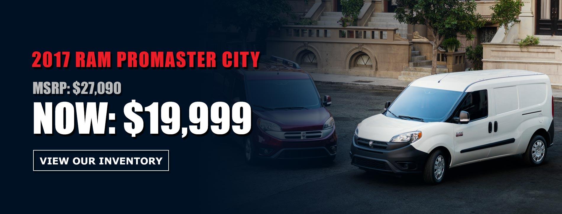 17 Ram Promaster City