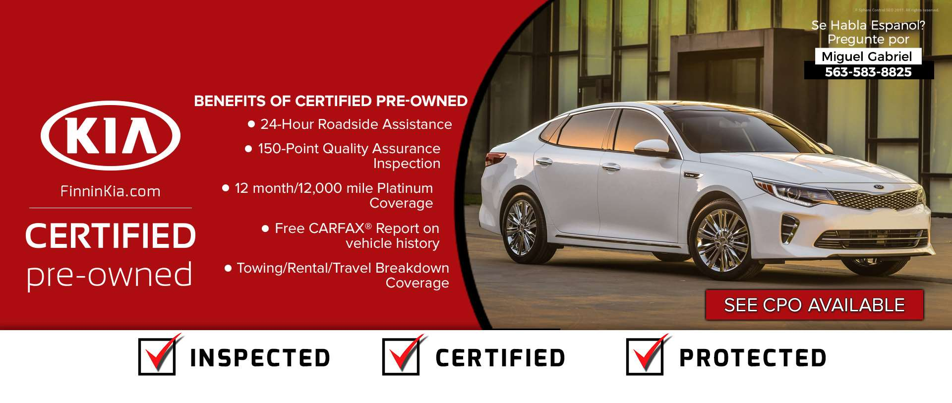 Kia CPO Benefits