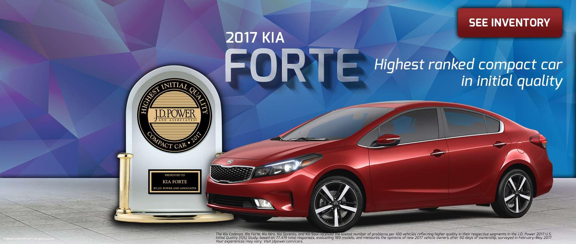 Kia Forte JD Power