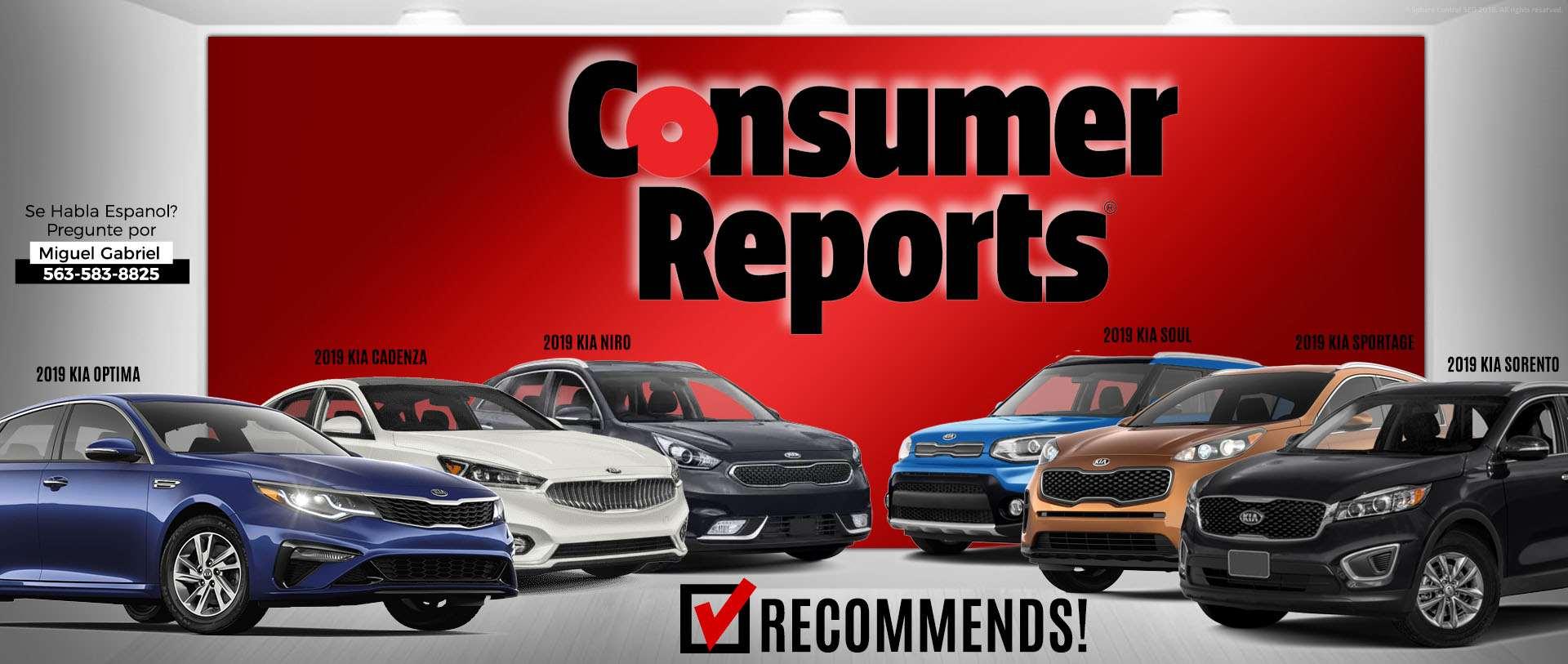 Kia Consumer Reports