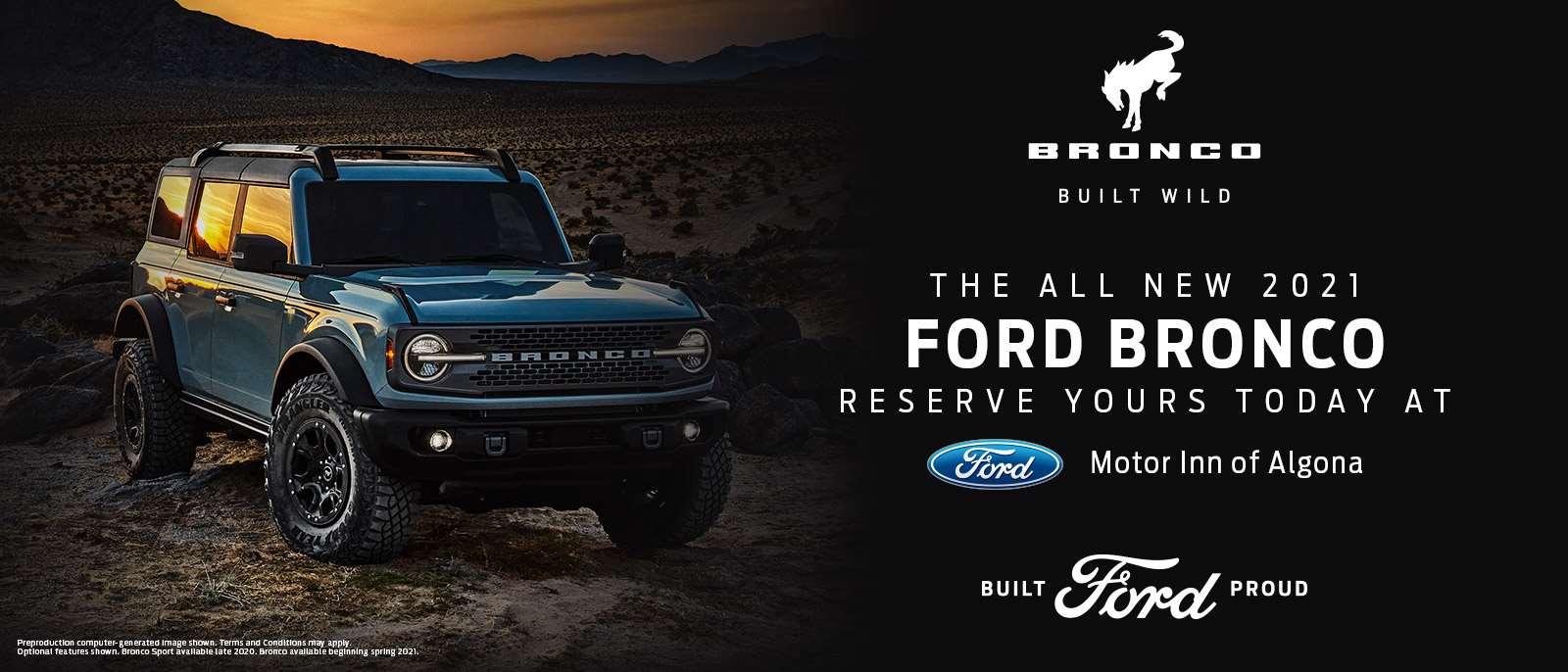 2021 Ford Bronco | Algona, IA