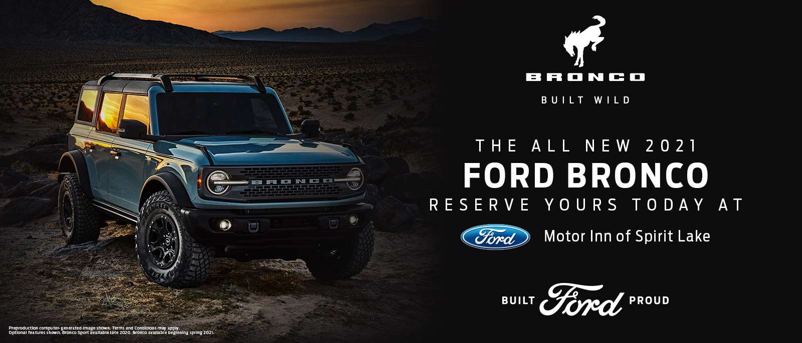 2021 Ford Bronco | Spirit Lake, IA