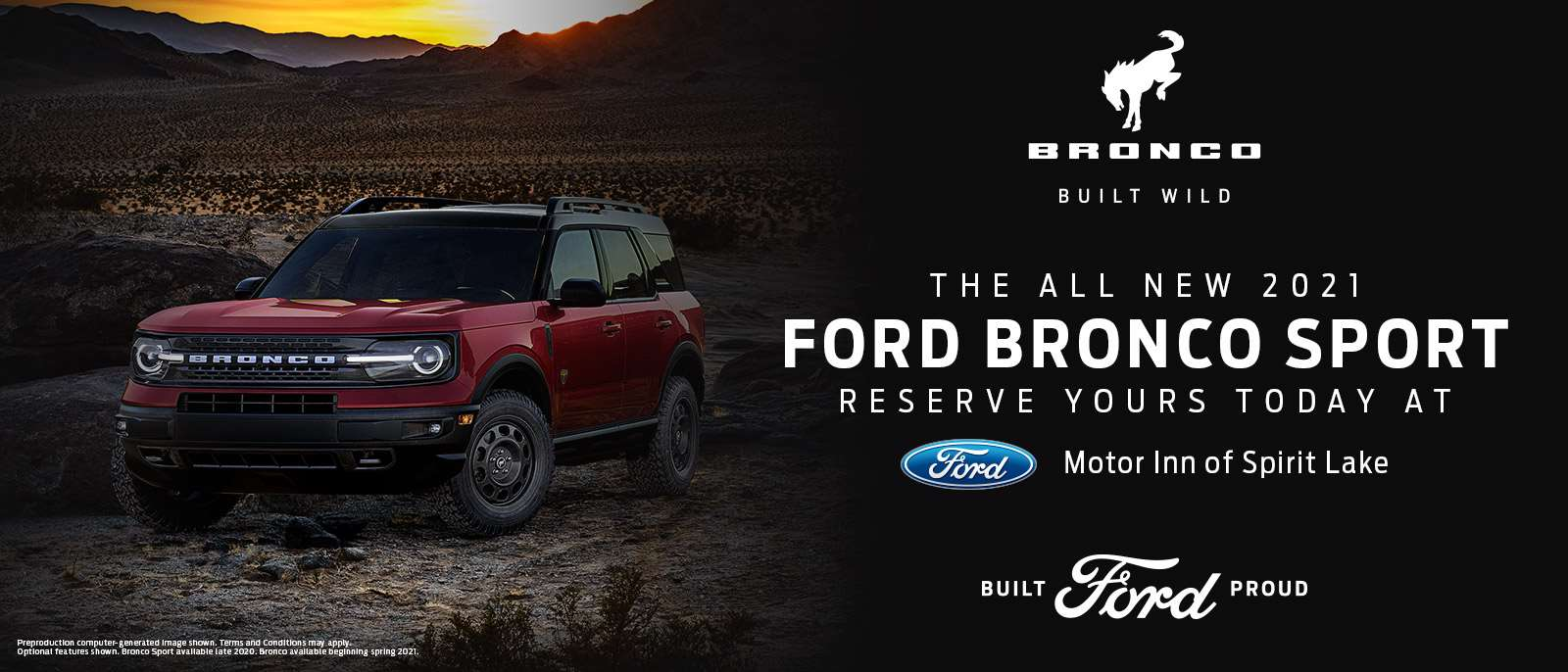 2021 Ford Bronco Sport | Spirit Lake, IA