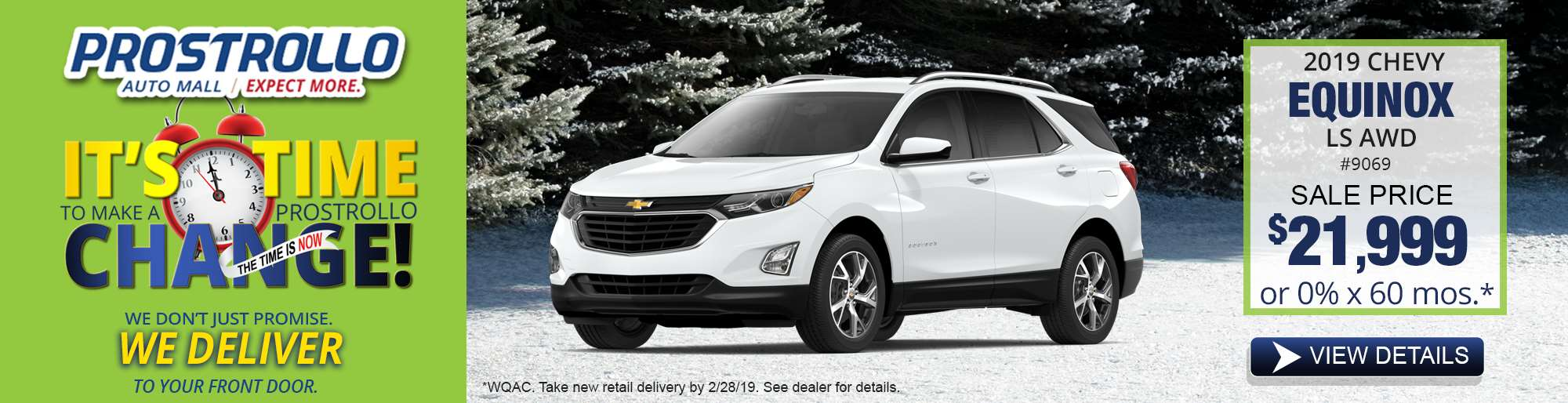 2. 2019 Chevy Equinox