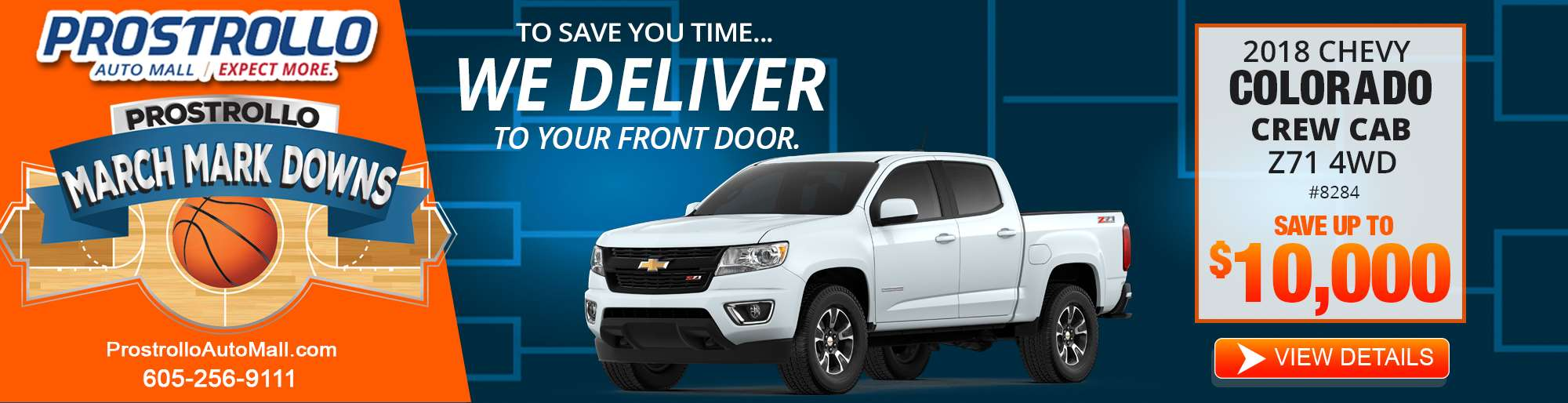 2018 Chevy Colorado Crew Cab 8284