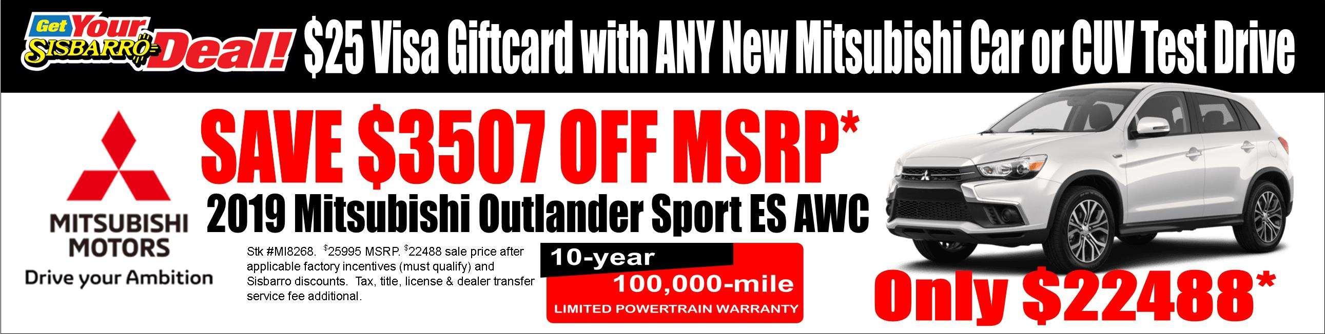 February Outlander Sport