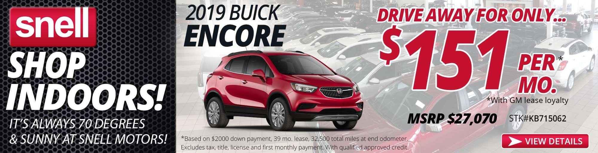 2.15 2019 Buick Encore