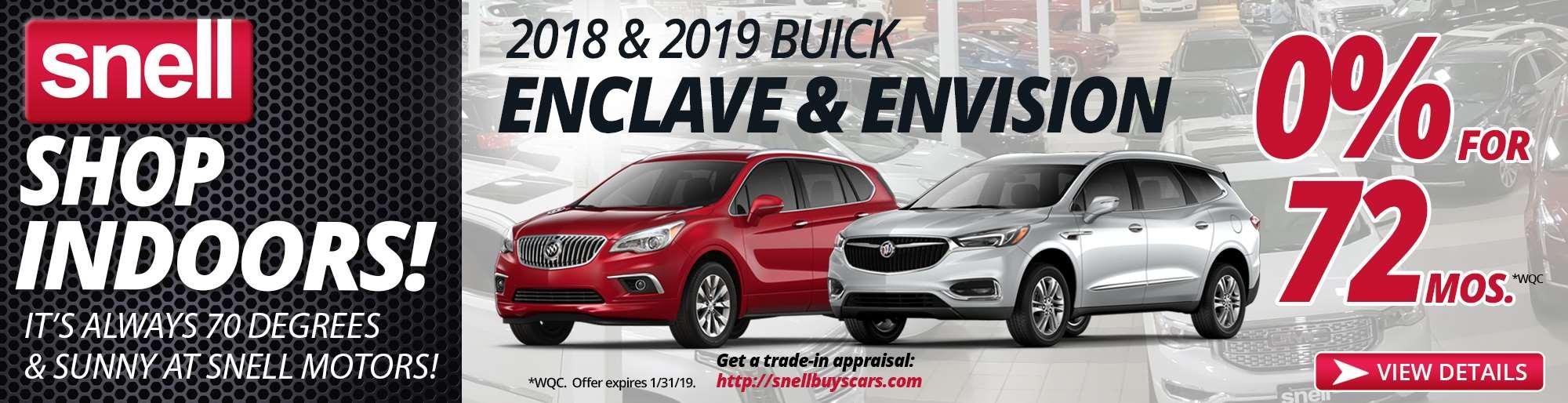 2018 2019 Buick Enclave Envision