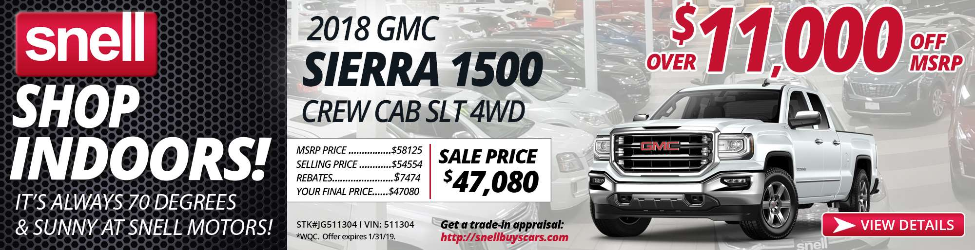 2018 GMC SIERRA CREW CAB